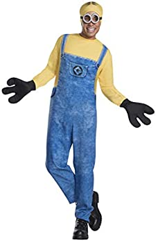 Rubie s mens Despicable Me 3 Movie Minion Costume Party Supplies Multi Colored Standard US