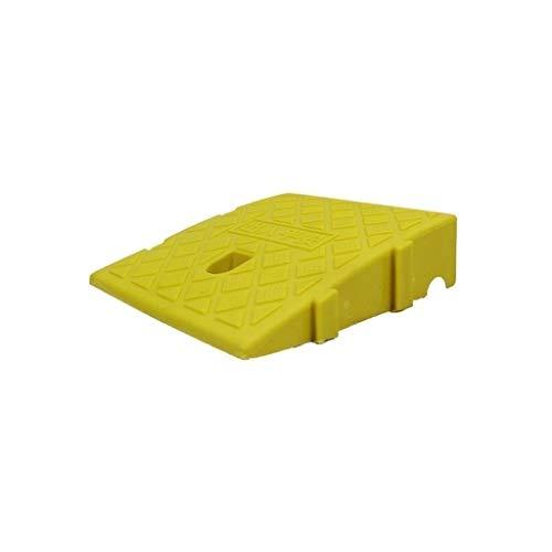 Buffer-Feng 7-11cm Slope-pad, anti-slip beweegbare drempeloprijplaat voor kinderfiets, zwart/geel plastic service hellingen
