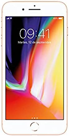 Apple iPhone 8 Plus 256GB, Color Dorado