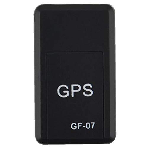 Localizador Gps Mini Antirrobo Localizador Gps Seguimiento En Tiempo Real Del Dispositivo De Posicionamiento De Dispositivos Para Niños De Personas Mascotas Negro