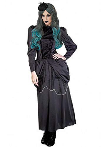 Forever Young Ladies Bruja Disfraz Disfraz Zombie Bride Vampire Scary Halloween Costume UK Tamaño 8