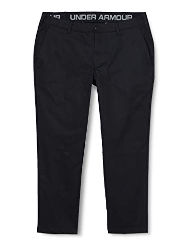 Under Armour UA Showdown Chino Pant étagé Pantalon Homme, Black / / Black (001), FR Unique (Taille Fabricant : 30/36)