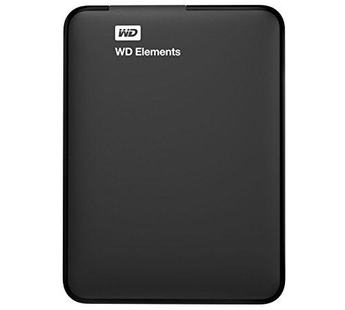 WD Elements 1TB Disco duro portátil–negro