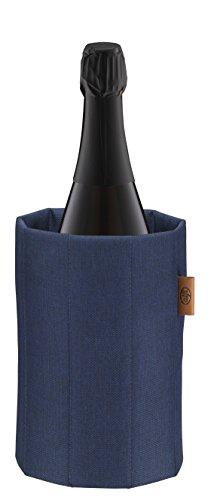 alfi 0007.701.815 Aktiv-Flaschenkühler Premium, Polyester, blau, für Flaschen mit bis zu 1,0 L