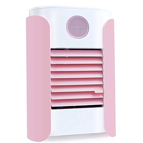 bas Luftkühler Und Luftbefeuchter Multifunktions-Spraying-Ventilator-Kühlanlage Für Outdoor Fitness Home Office Autos Pink