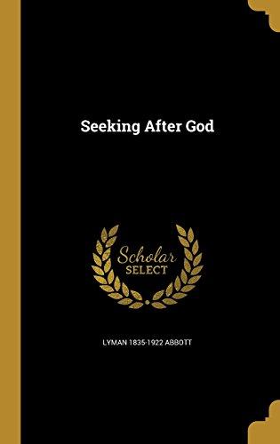 SEEKING AFTER GOD