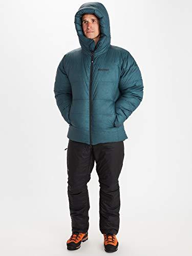 Marmot Herren Mt. Tyndall Hoody, Warme Daunenjacke, isolierter Wintermantel mit Kapuze, winddichter Gänsedaunen-Parka, Steppjacke, leichte kompakte Expeditionsjacke, Stargazer, L