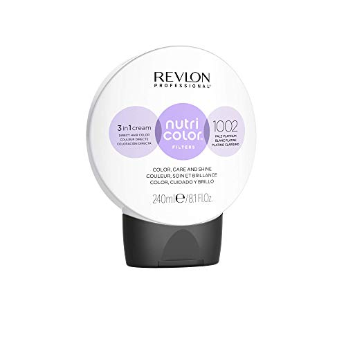 REVLON PROFESSIONAL Nutri Color Filters #1002 Pale Platinum 240 ml