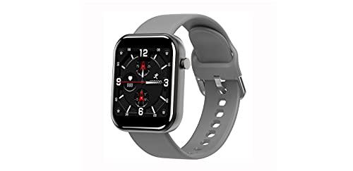 ASDFDG Reloj Inteligente Bluetooth, Reloj Inteligente con Pantalla Táctil de 1.5 Pulgadas,Cronómetro, Reloj Inteligente para Hombres y Mujeres para iPhone, Teléfono Androidgray