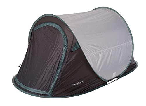 Spetebo Wurfzelt für 2 Personen 220x120x90 cm - Cool Fresh Dark Black - Pop Up Zelt Festivalzelt Trekkingzelt Campingzelt