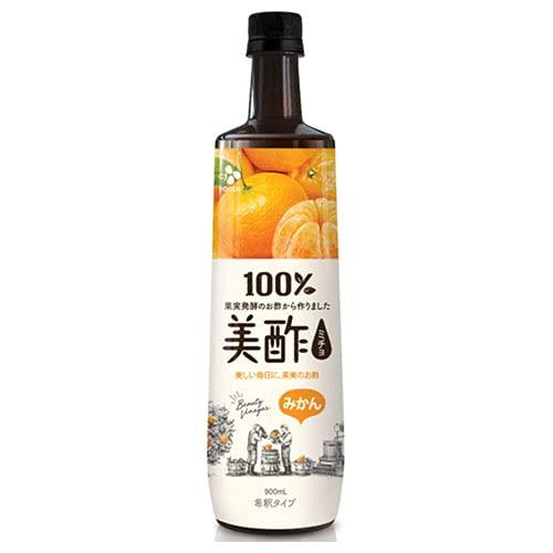 CJジャパン 美酢(ミチョ) みかん 900ml ボトル 12本入