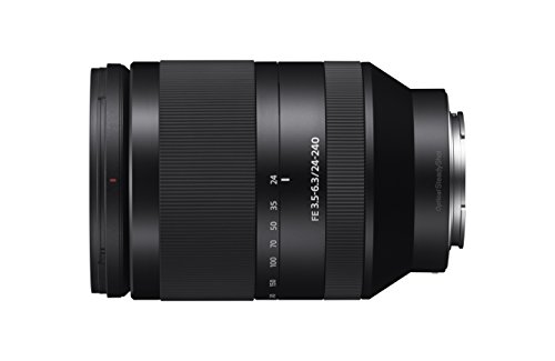 Sony FE 24-240 mm f/3.5-6.3 OSS - Full-Frame, Gran Angular,...