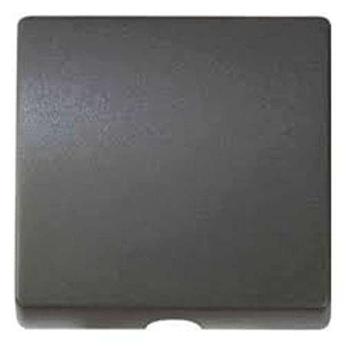 Tapa para salida de cables, serie 82 Concept, 1 x 4 x 4 centímetros, color titanio (referencia: 8200051-096)