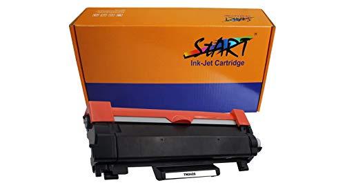 Start–XL tóner de Repuesto y Carga Compatible con Brother TN de 2420o Dr de 2400, Color (01) TN-2420 Toner