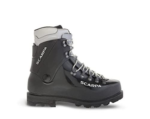 SCARPA Inverno Waterproof Boots for Climbing and Mountaineering - Black - 11