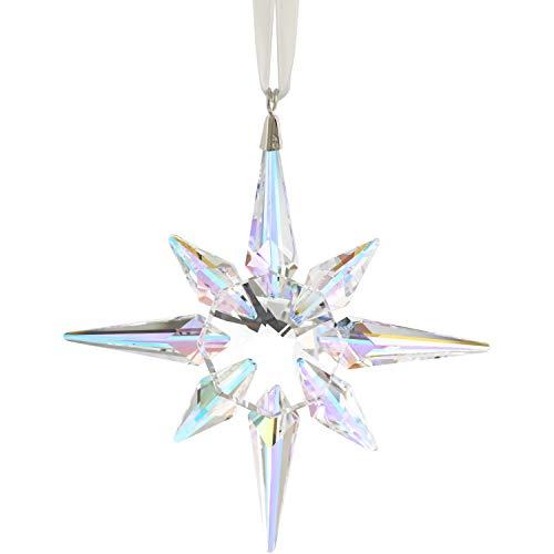 SWAROVSKI Star Ornament, Crystal Aurora Borealis Aurora Borealis One Size