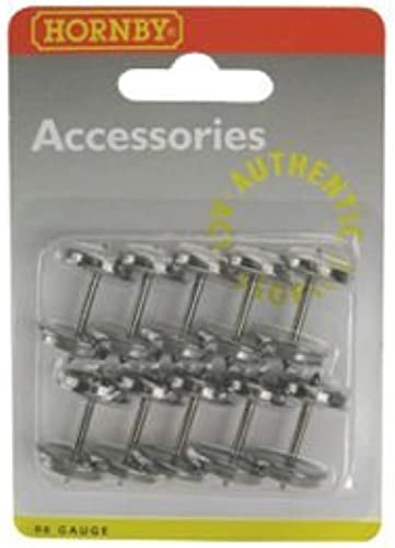 Hornby R8218 10 Pack 14.1mm Disc 00 Gauge Wtalons & Couplings Accessory by Hornby