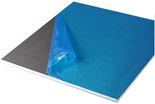 DSFHKUYB Láminas De Aluminio Y Placas De Precisión Metales Tooling Flat Sheet Plate 300X300mm De Espesor: 0,5 Mm,0.5mm x 300mm x 300mm