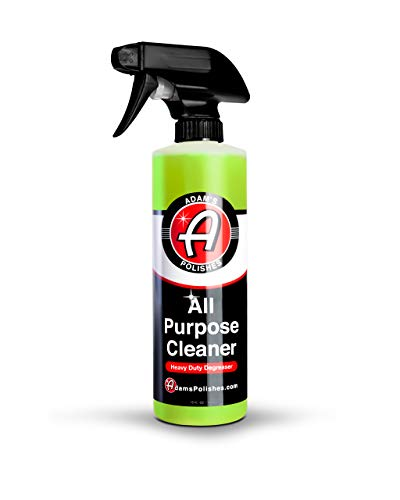 Adam's All Purpose Cleaner (16oz) - Professional Heavy Duty Industrial Cleaner & Degreaser   Cuts Heavy Grease & Tar   Car Detailing, Tire Cleaner, Engine Cleaner, Wheel Cleaner