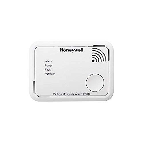 Honeywell Home XC70-ESPT-A Detector de Monóxido de Carbono, color blanco