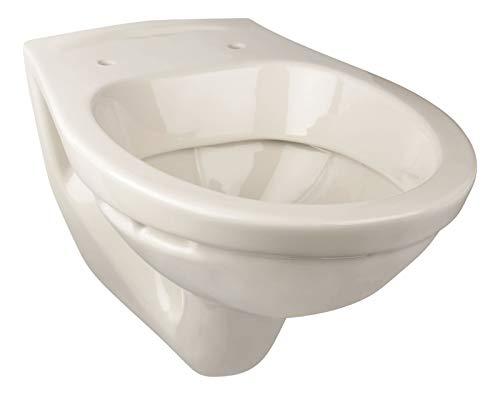 Calmwaters® - Hänge-WC in Pergamon als Tiefspüler mit waagerechtem Abgang, Tiefspül-WC - 08AB3276