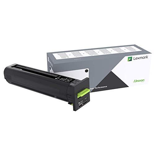 Lexmark Extra High Yield Black Return Program Toner Cartridge for US Government, 33000 Yield (72K0XKG)