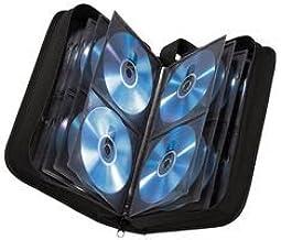 Hama - Estuche porta CD para 120 CD/DVD/Blu-rays,