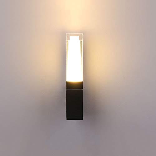 Lyuez Outdoor Wasserdichte LED Wandleuchte Moderne Minimalistische Terrassenlampe Balkonbeleuchtung Wandleuchte Tür Wandleuchte Kreative energiesparende Wandleuchte (Größe : 1001)