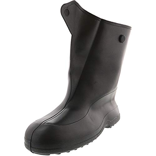 Tingley Rubber 10-Inch 1400 Rubber Overshoe with Button Boot,Black,XX-Large