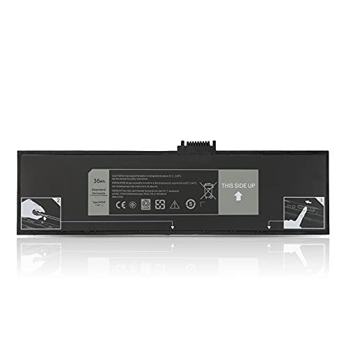 "K KYUER 36Wh HXFHF Batería para Dell Venue 11 Pro 7130 7139 T07G T07G001 i3-4020Y i3-4030Y i5-4300Y i5-4210Y 10.8"" Tablet PC HXFHF VJF0X VT26R XNY66 451-BBGR 0VT26R 7.4V Laptop Replacement Battery"