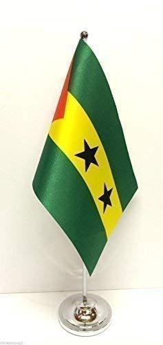 Albardilla de la bandera de mesa bandera de Base de cromo