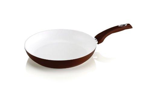 Bialetti Y0CWPA0200 Ceramic Ok Pfanne ø 20 cm, keramikbeschichtet und induktionsfähig