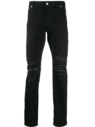 Luxury Fashion | Balmain Heren TH15291Z0390PA Zwart Katoen Jeans | Lente-zomer 20
