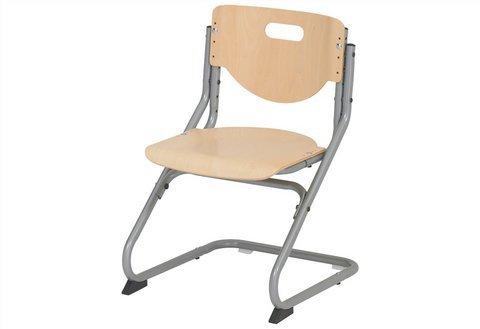 Kettler Chair Plus Schreibtischstuhl Kinder – hochwertiger Kinderschreibtischstuhl MADE IN GERMANY – ergonomisch & höhenverstellbar – Freischwinger, der mitwächst – Buche & silber