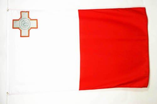 AZ FLAG Flagge Malta 150x90cm - Republik Malta Fahne 90 x 150 cm feiner Polyester - flaggen