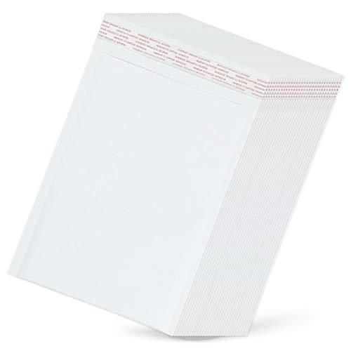 JACKAL SUN DVD クッション封筒 - 500枚セット シール付き トールケース メール便袋 白無地 W190xH255mm