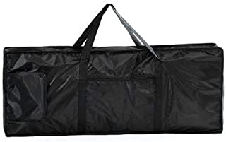 Black Electric 61 Key Keyboard Piano Organ Carry Bag Case Portable