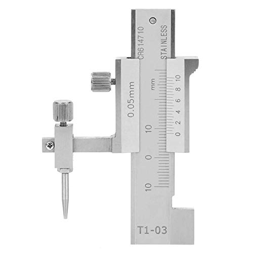 Digital Caliper Face Stufenleuning, schuifmaat micrometer meetinstrument voor vormbouw, 0-20mm 0,05mm schuifmaat
