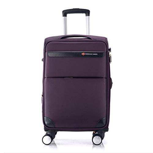 Anno Trolley case universal wheel business men's suitcase men and women Oxford cloth luggage suitcase bagLightweight medium tote bag with wheels weekend trolley case