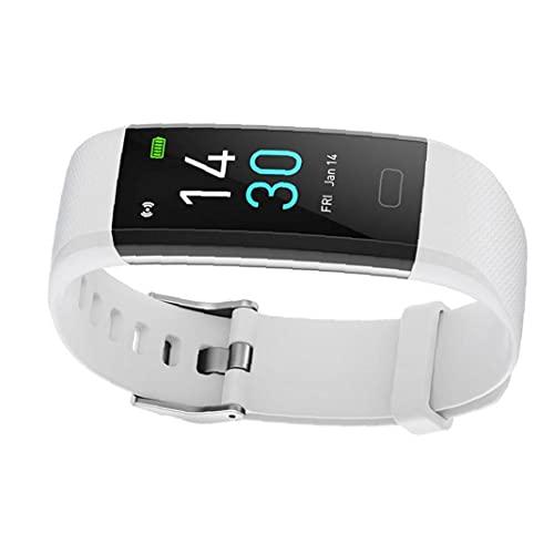 Smart Watch Fitness Tracker Pulsera S5 Actividad Temperatura Tasa de corazón Dormitorio impermeable para mujeres Hombres Herramientas blancas gratis