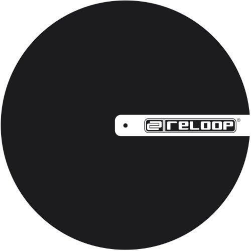Reloop Slipmat für DJ (TURNTABLISM, schwarz mit Logo