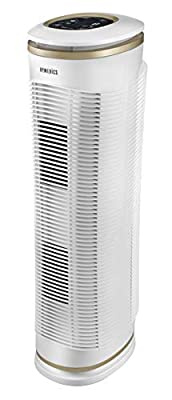HoMedics Pet Plus Clean Air Purifier, True HEPA, Pet Hair, Litter Odour, Wet Dog Smell, Filters up to 99% of Allergens, Keeps Air Fresh, British Allergy Foundation Approved