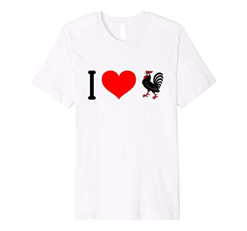 I Love Big Black Cock T-Shirt Funny Giant Rooster Sex Joke