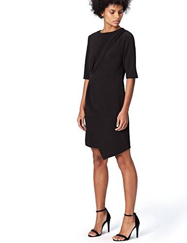 Marchio Amazon - find. Vestito Donna, Nero, 40, Label: XS