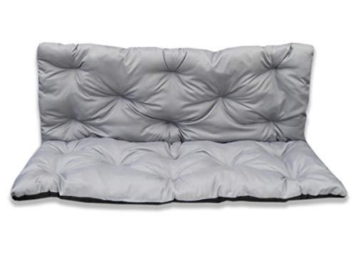 4myBaby GmbH Best for Garden Coussin d'assise avec dossier pour banc 2 personnes 100 x 60 x 50 cm