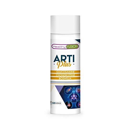 Glucosamine + chondroïtine + boswelia   Anti-inflammatoire naturel   Prévient et élimine la douleur   Protège le cartilage, muscles et les articulations   Capsules à action prolongée   120 capsules
