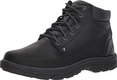 Skechers Men's Segment-Garnet Hiking Boot, BBK, 13 Medium US