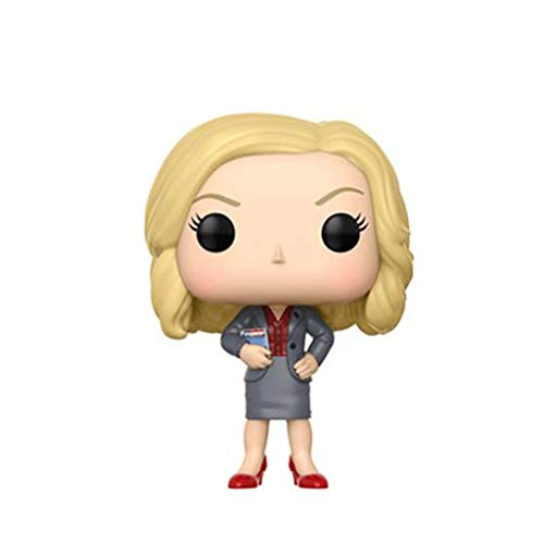 Funko Pop Television: Parks and Recreation - Leslie Knope 3.75inch Vinyl Gift for TV Fans SuperCollection