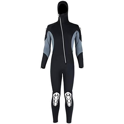 Alomejor Tuta da Sub 3mm Tuta da Snorkeling con Cerniera Frontale per Surf Tuta da Sub per Tutto Corpo