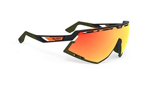 Rudy Project - Gafas Defender RP Optics, SP524006-0002, Black Matte-olive Orange